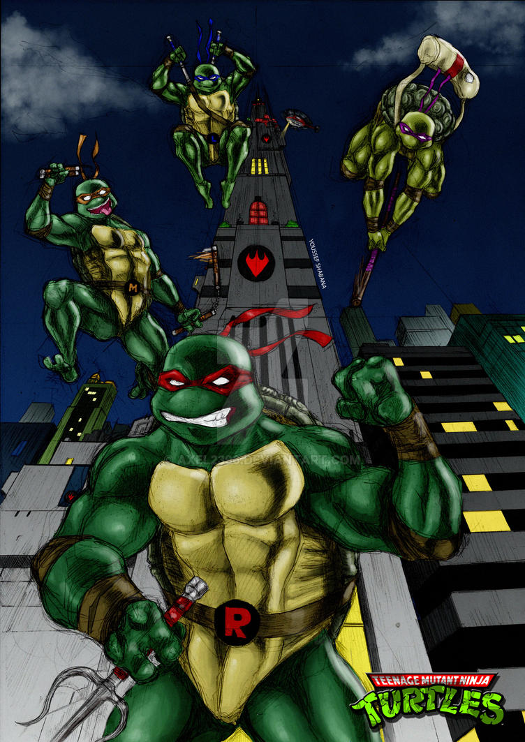 TMNT by Axel2396