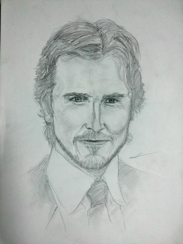Christian Bale by Olga-Tereshenko on DeviantArt