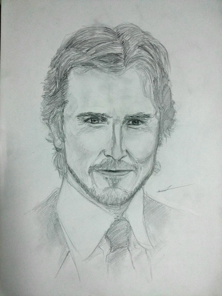 Christian Bale  by Axel2396