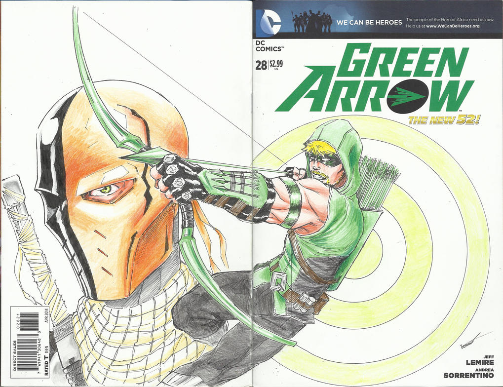 Green Arrow Sketch Variant by Axel2396
