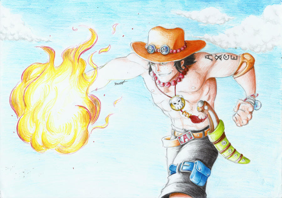 Portgas D. Ace by Axel2396