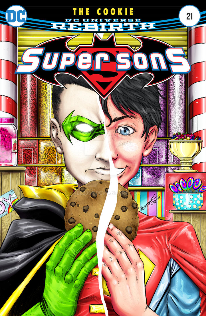 Super Sons - The Cookie  (Cover Variant) by Axel2396