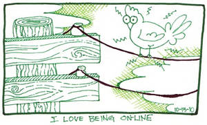 being On-Line