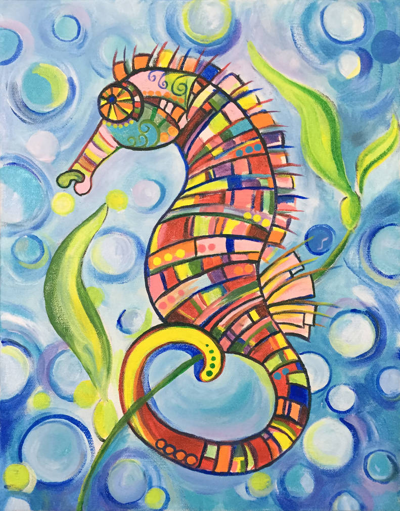 Patchwork Seahorse