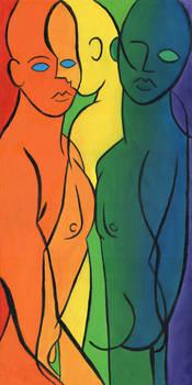 Three Graces Rainbow