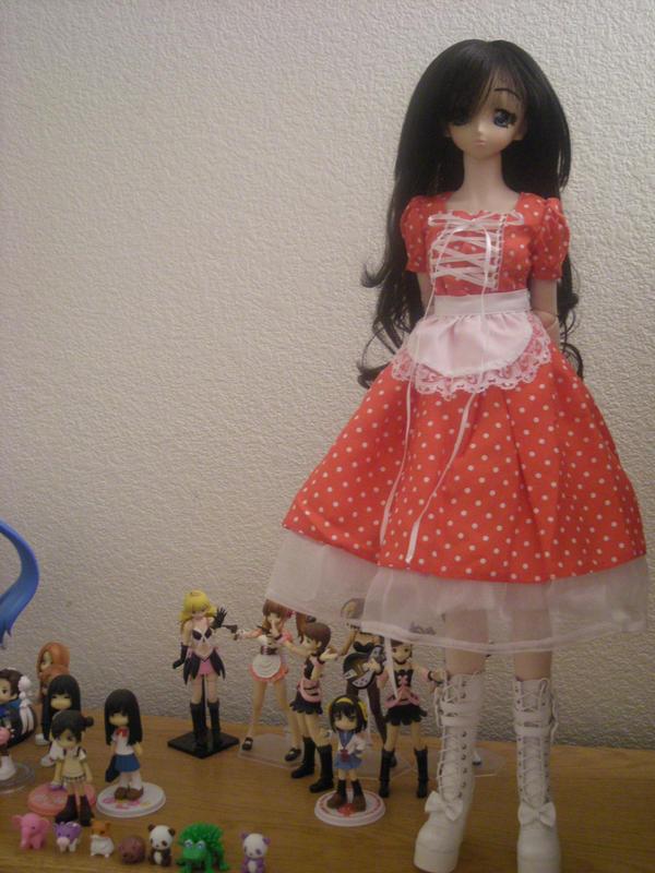 Sophie's new dress ::1 by Moniquekat