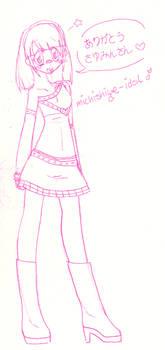 2013 0909 Michishige-Idol
