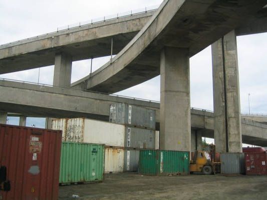 Overpass and Containers