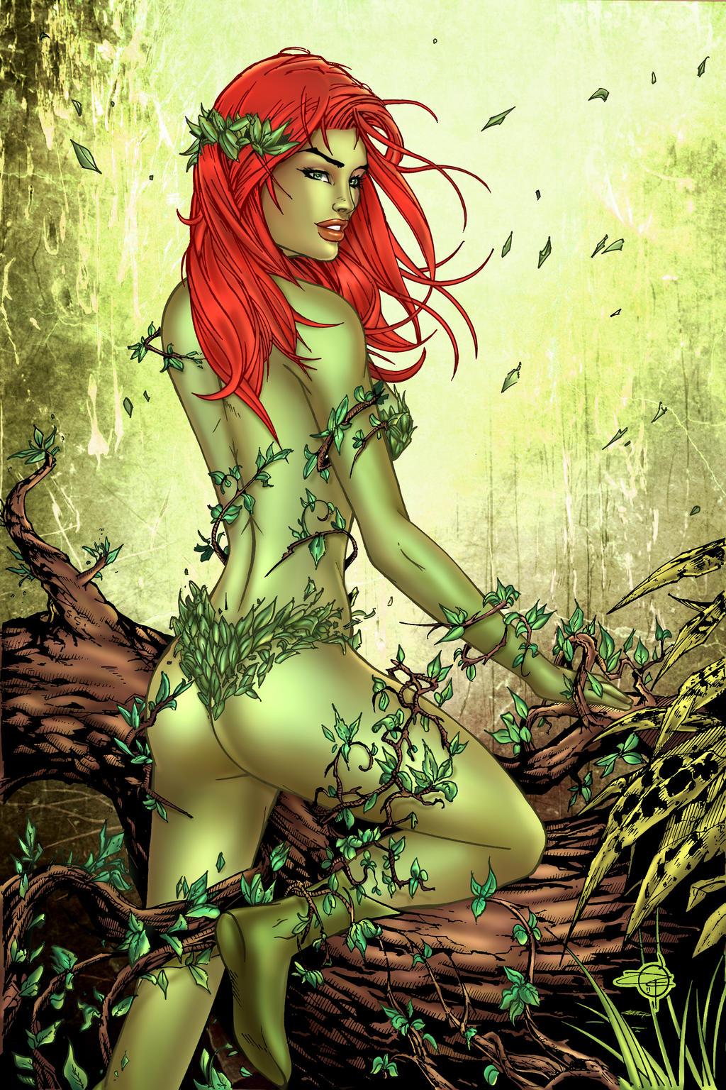Poison Ivy by KRThompsonART