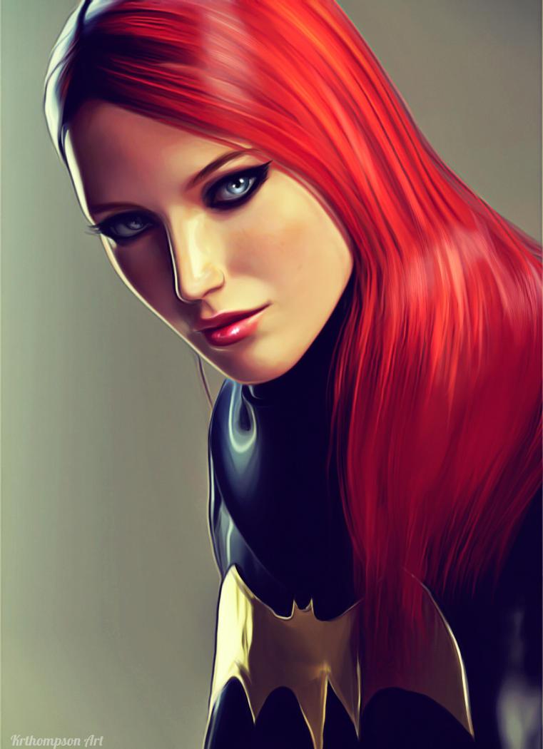 Batgirl Unmasked by KRTArt