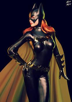 Batgirl Posing