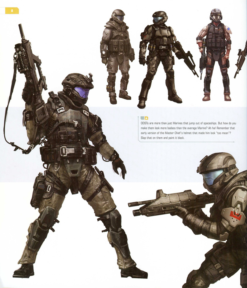 Science Fiction Fantasy Adventure The Halo Odst Community Get