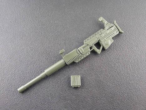 GI Joe Classified Roadblock Gun Customized