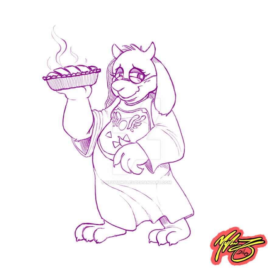 [CM] Anonymous - Toriel Dreemurr by heyitsmyles