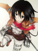 Mikasa Ackerman by Sam--I--Am