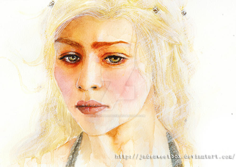Daenerys Targaryen by jadesweetbox