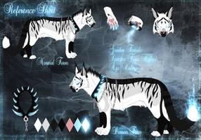 Ice Demon Tiger Ref Sheet