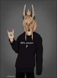 .:99% Unicorn:. by xXCougarXx