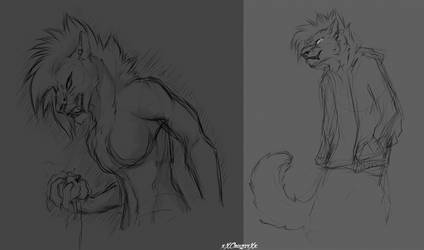 Vent Sketches by xXCougarXx