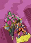 Piccolo versus Goku