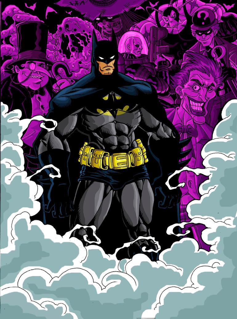 Batman by The-Satsui