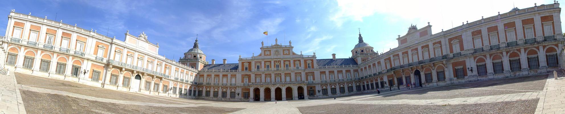 Panoramica - Palacio aranjuez by Rob-XIII