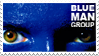 Blue Man Group stamp by explodingmuffins