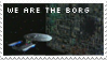 We are the Borg stamp