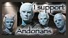 Andorian Stamp