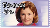 Janeway Stamp by explodingmuffins