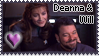 Deanna and Will Stamp by explodingmuffins