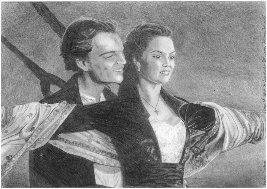 Titanic - Kate Winslet and Leonardo DiCaprio by karin108 ...