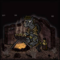 FoE: Campfire cooking