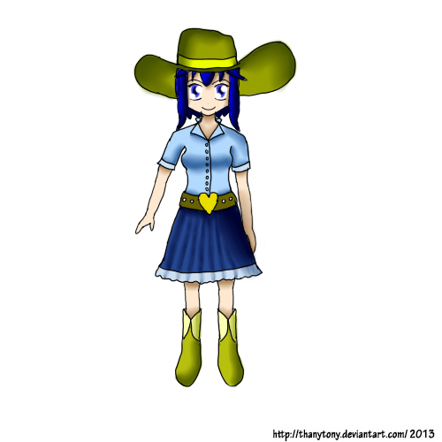 Cowgirl Lucina by ThanyTony