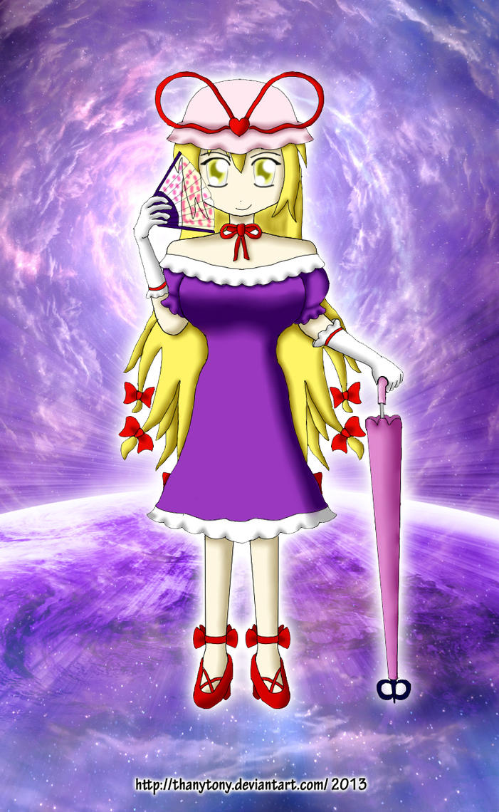 The Gods of the Metaverse: Yukari [ZUN.0196] by ThanyTony