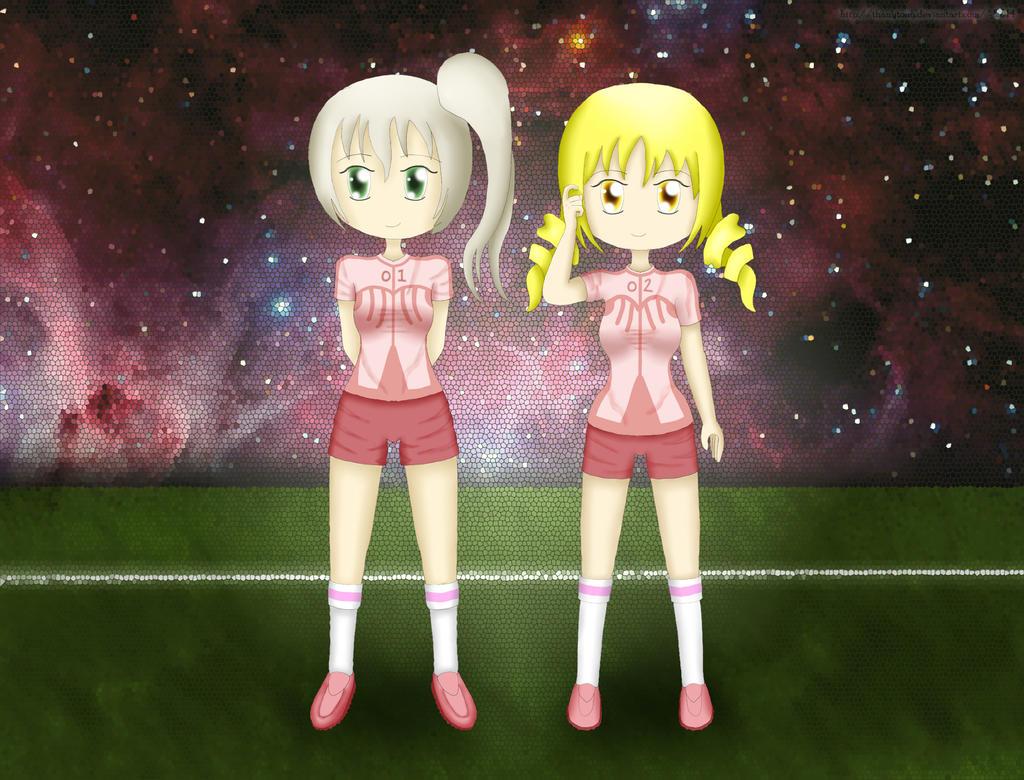 Magical Soccer Team by ThanyTony