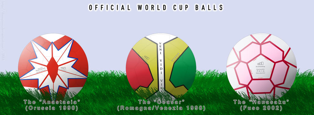 World Cup Official Match Balls 2 (Strike Witches) by ThanyTony