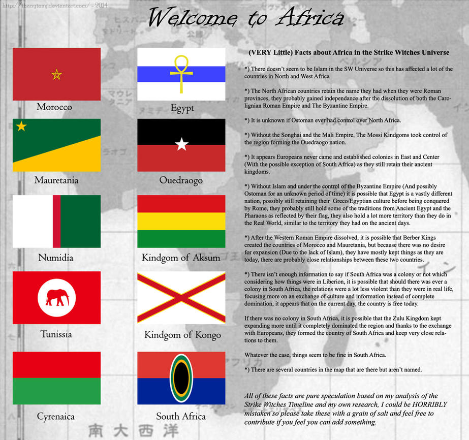 Strike Witches: Welcome to Africa by ThanyTony