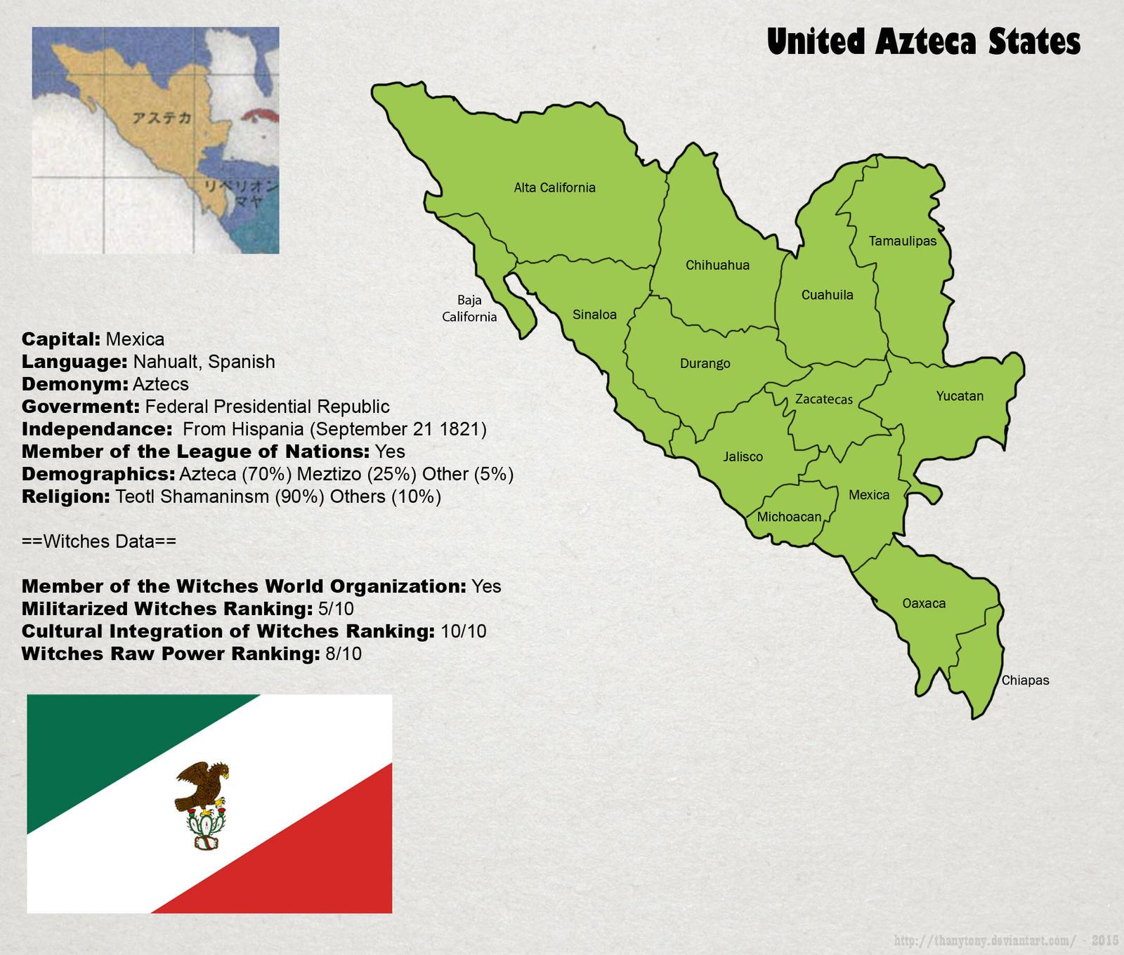 SW: Map of Azteca by ThanyTony