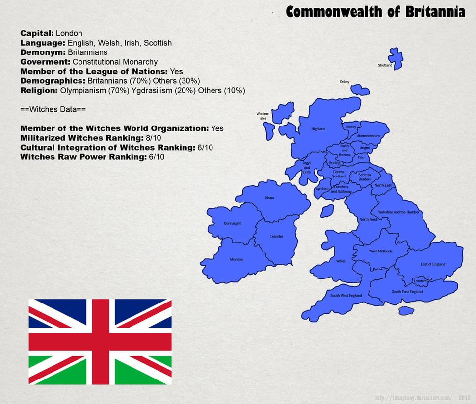 SW: Map of Britannia by ThanyTony