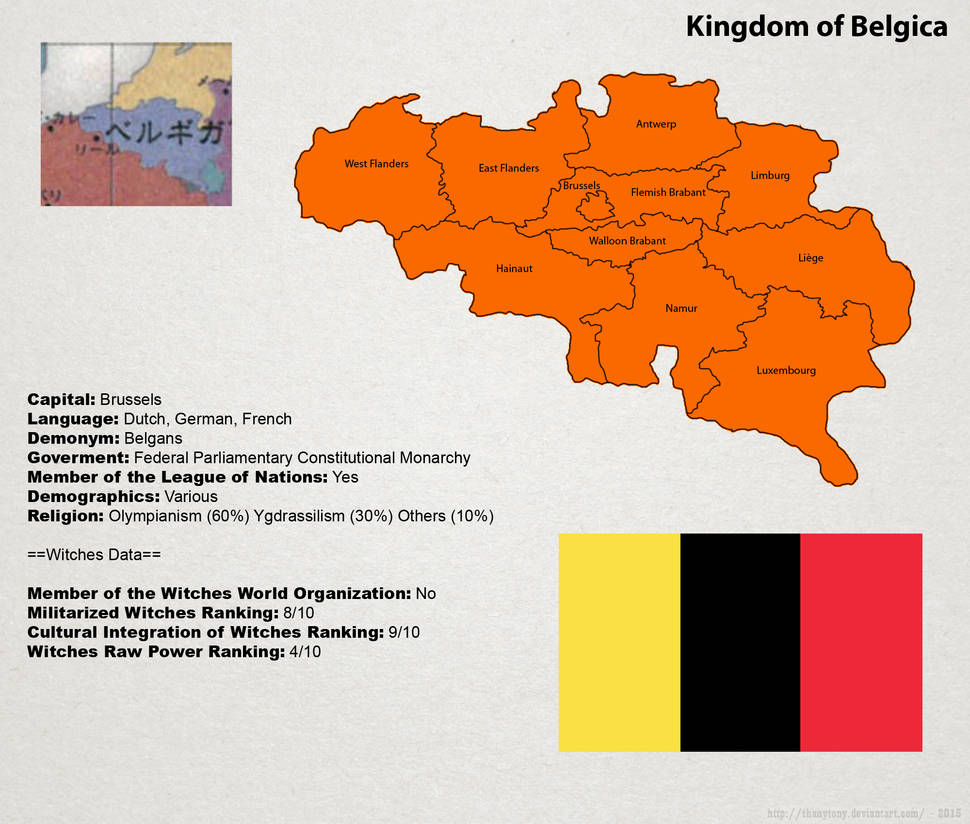 SW: Map of Belgica by ThanyTony on DeviantArt Belgica Map on