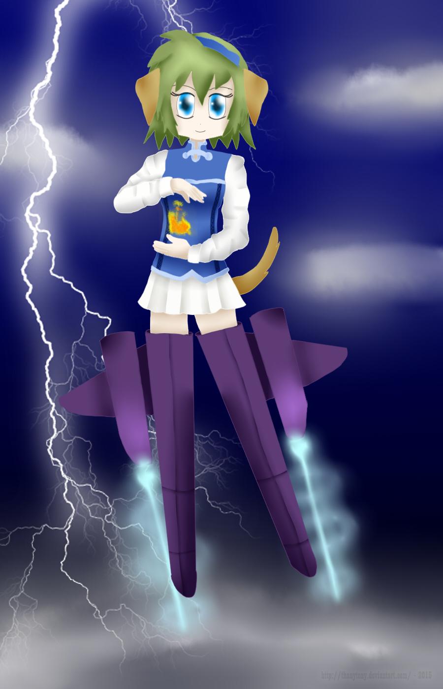 Witch Nino by ThanyTony