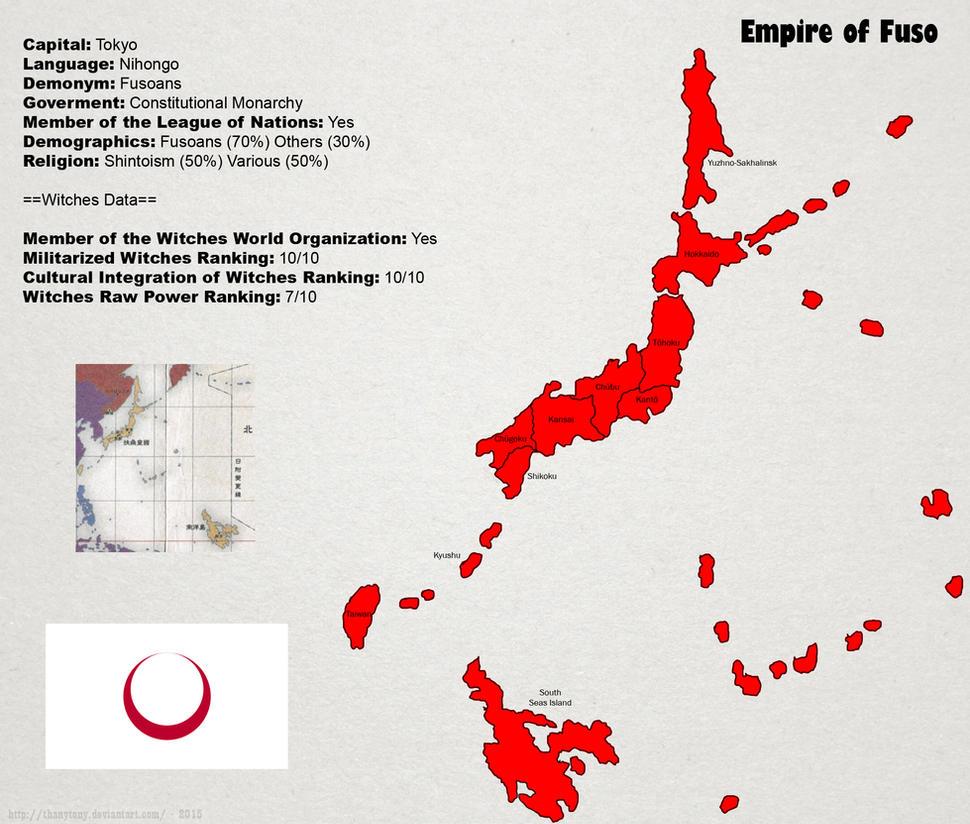 SW: Fuso Map by ThanyTony