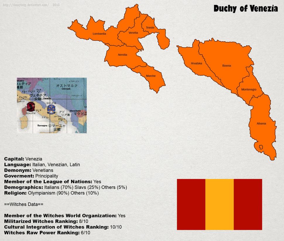 SW: Map of Venezia by ThanyTony