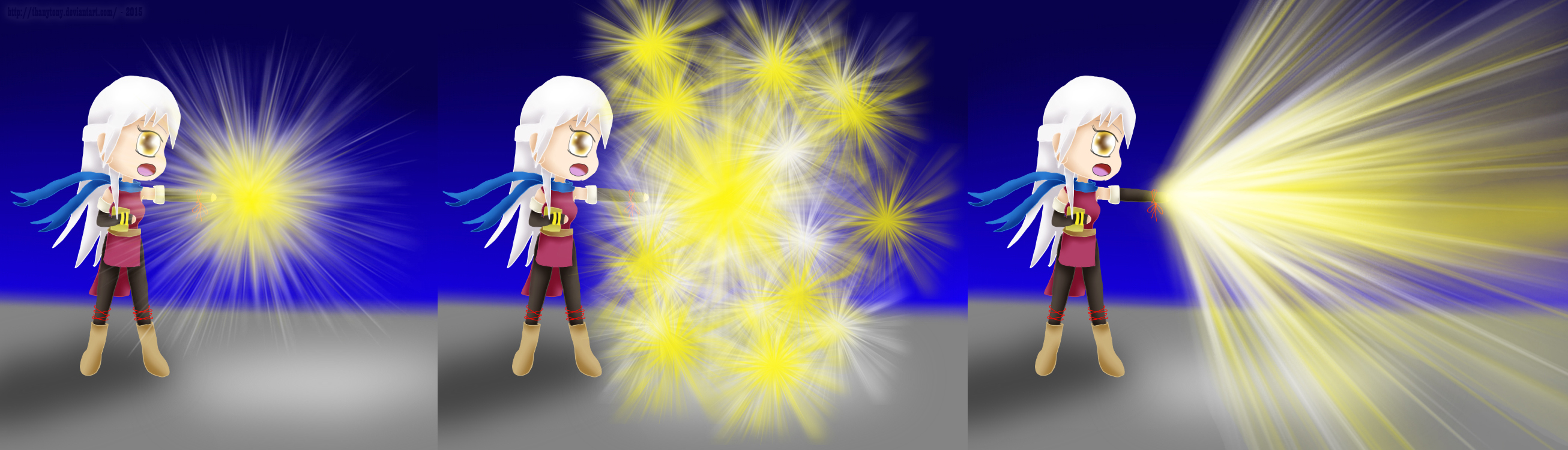 Micaiah Moveset B Neutral: (Light Tomes) by ThanyTony