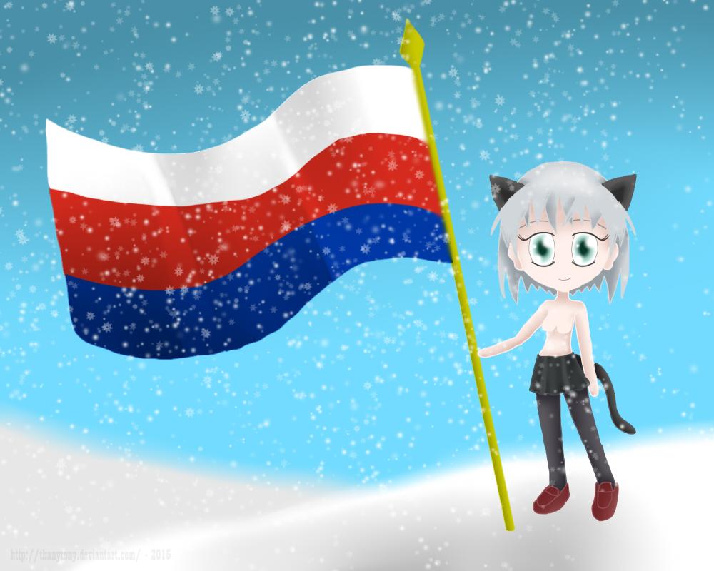 Chibi Patriotic Sanya by ThanyTony