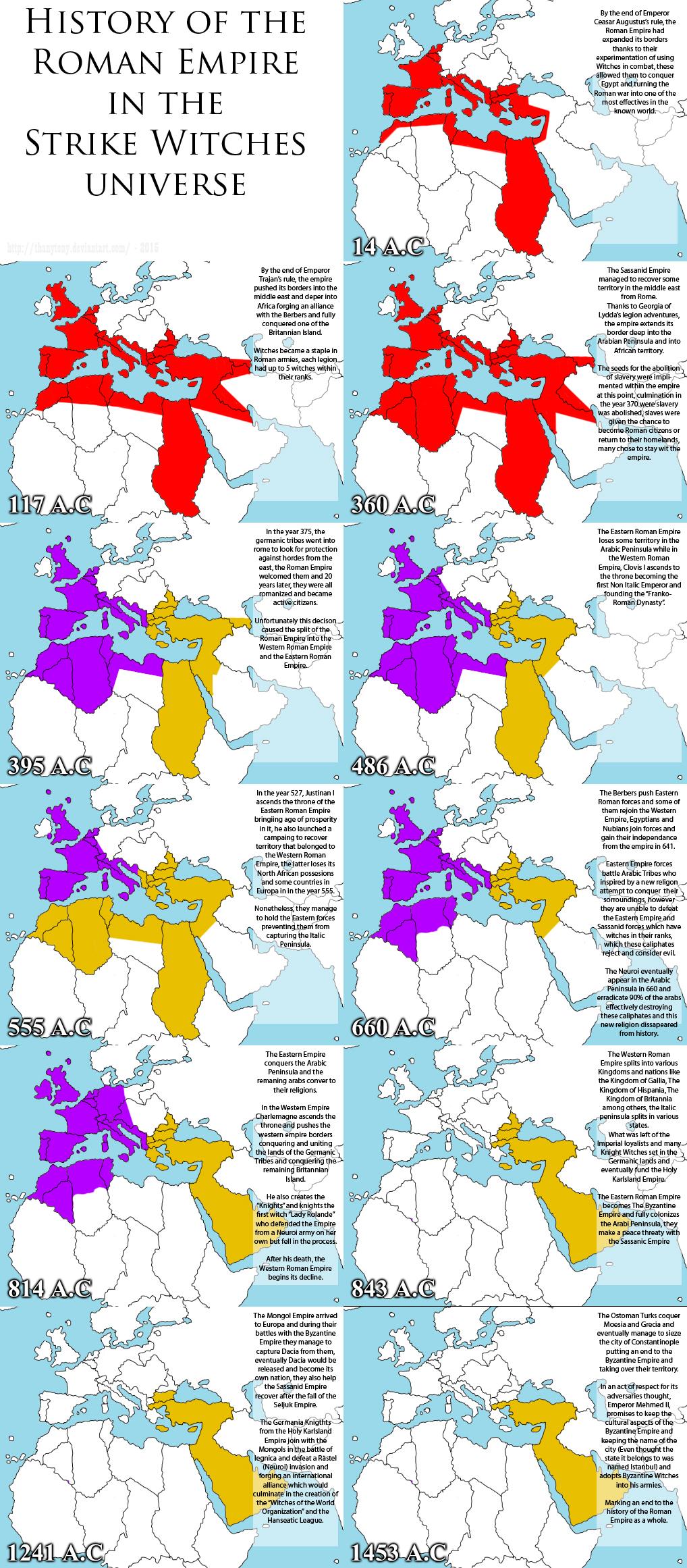 SW: The History of the Roman Empire by ThanyTony
