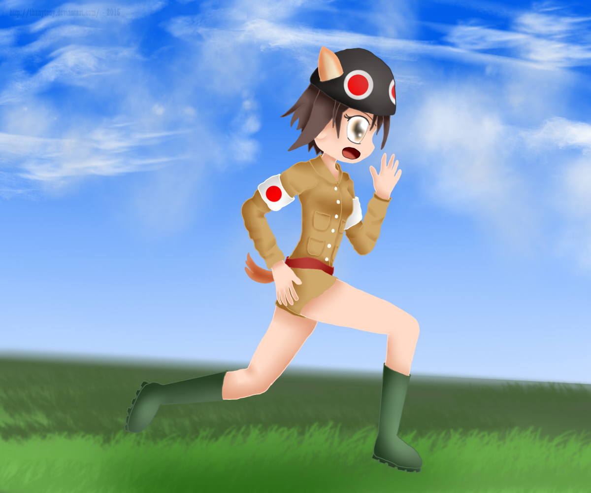 Yoshika Combat Medic by ThanyTony