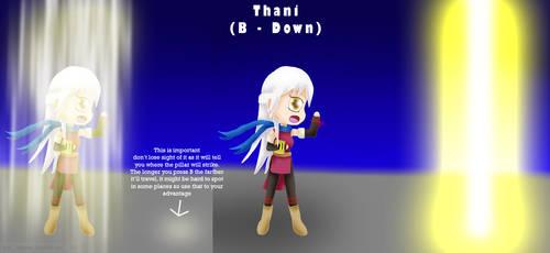 Micaiah Moveset B Down: (Thani) by ThanyTony