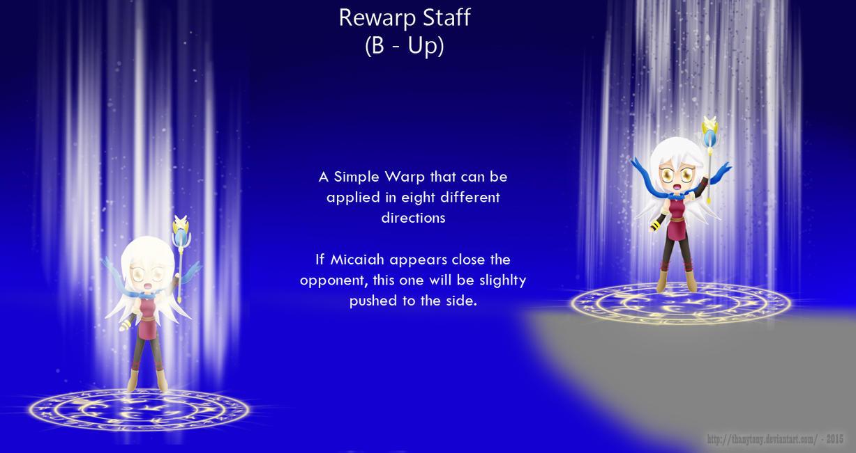 Micaiah Moveset B Up: (Rewarp Staff) by ThanyTony